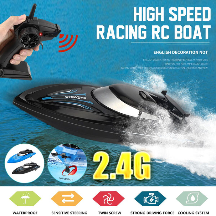 B801 2.4G 48KM/H Electric Racing RC Boat Ship Remote Control High Speed