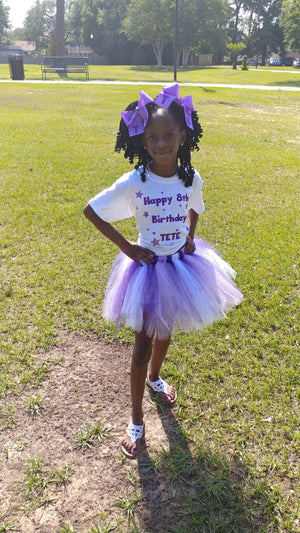 Custom tutu, shirts and bows