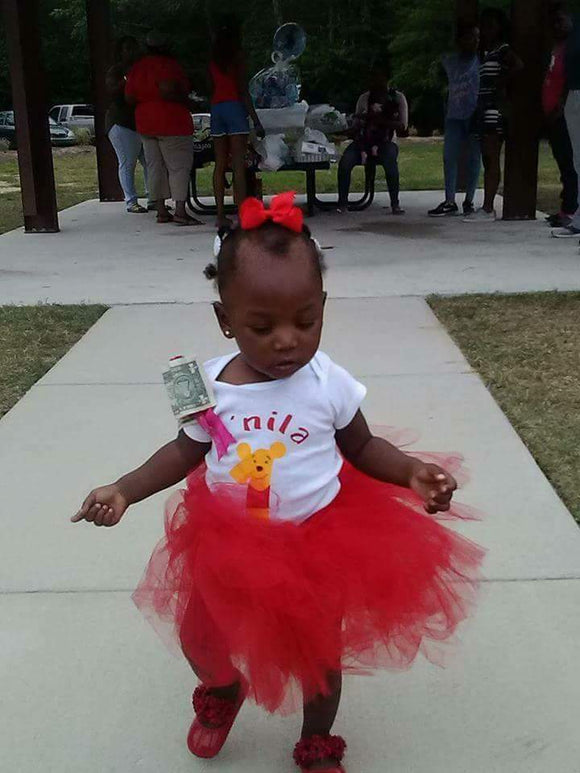 Custom bodysuit and tutu