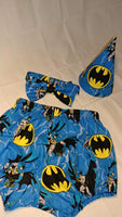 Batman birthday set 3pc set