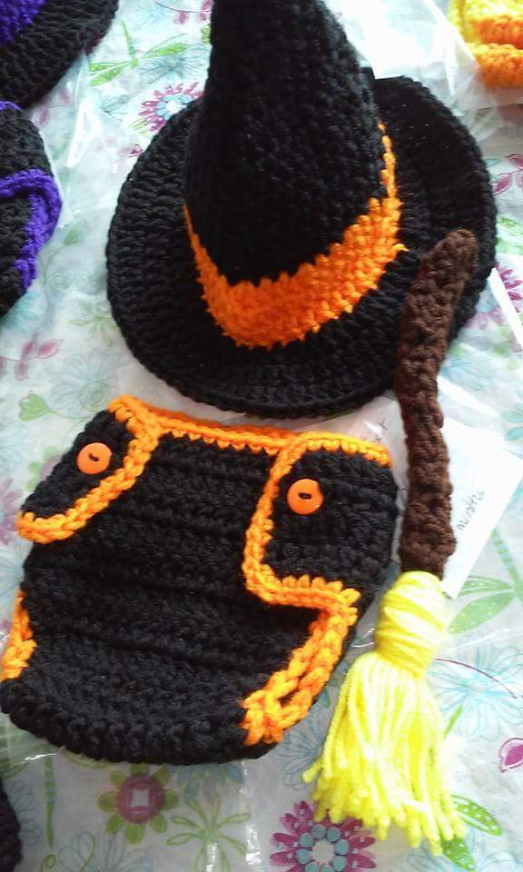 Witch diaper set