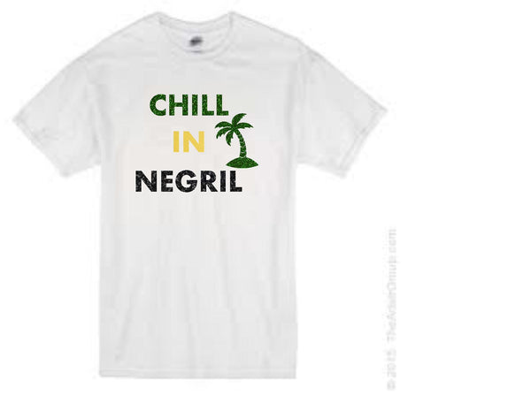 CHILL IN NEGRIL, Jamaica theme 2020 t-shirt