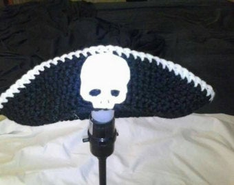 Crochet pirates hat