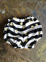Bad and Boujee baby bodysuit and bloomers
