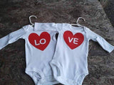 LOVE twins boysuits