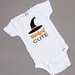 Wicked cute Halloween onesie