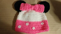 Minnie mouse inspired hat