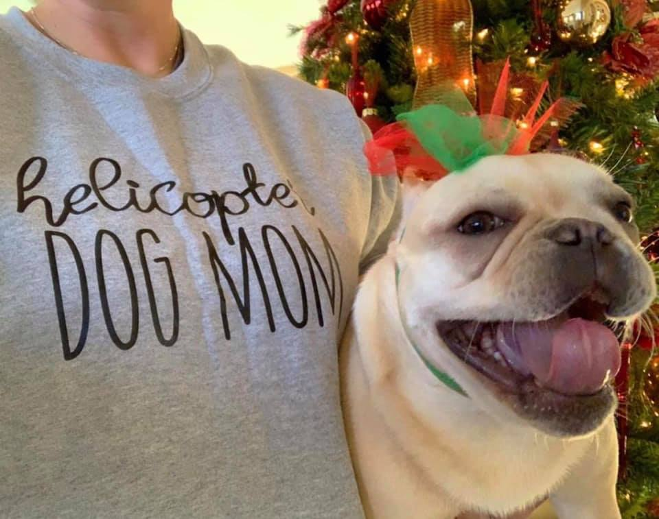 Helicopter Dog Mom - Unisex Sweatshirt