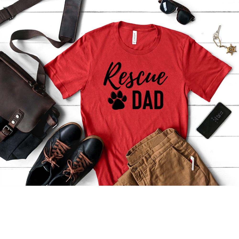 Rescue Dad - Men's Crew T-Shirt