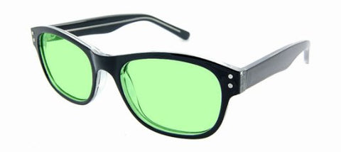 Green Tinted Glasses