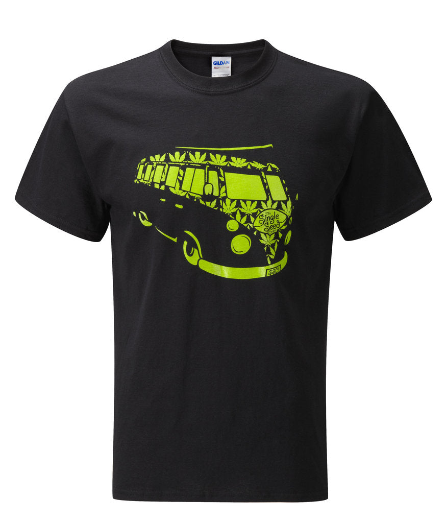 Campervan T-Shirt Marijuana Seeds