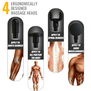 Muscle-Ease™ - Electric Body Massager
