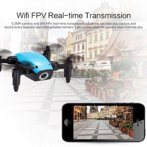 MicroFlight™ - Mini Wifi Pocket Drone