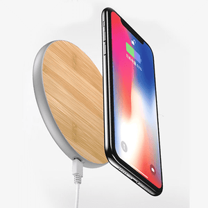 Auckly™ 10W Bamboo Qi Wireless Charger - Optimal Artifact
