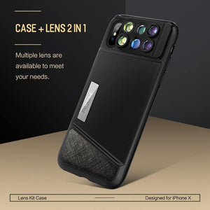 6 In 1 Integrated Lens Case