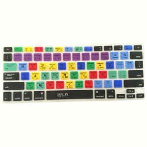 Adobe Photoshop Keyboard Shortcut Silicone Cover For Macbook Pro - Optimal Artifact
