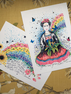 Frida, you are...
