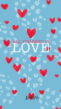 Load image into Gallery viewer, *FREE* LOVE IS IN THE AIR! PHONE WALLPAPERS - 6 designs available!