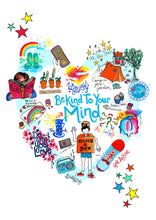 Load image into Gallery viewer, 'Be Kind To Your Mind' Poster (Available as FREE PRINTABLE)