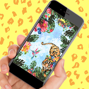 BE WILD - Paradise Phone and Desktop