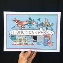Load image into Gallery viewer, Honor Oak Park Print