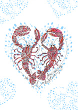 Load image into Gallery viewer, You Are My Lobster Print - personalisation optional