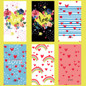 *FREE* LOVE IS IN THE AIR! PHONE WALLPAPERS - 6 designs available!
