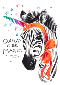 Zebra - Could It Be Magic