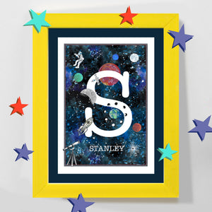 NEW space initial print