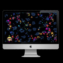 Load image into Gallery viewer, RAINBOW STARS LEOPARD