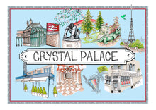 Load image into Gallery viewer, Crystal Palace Location Print