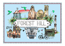 Load image into Gallery viewer, Forest Hill Location Print