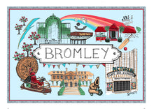 Load image into Gallery viewer, Bromley Location Print (in colour)
