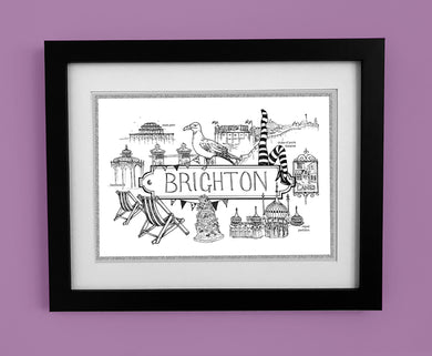 Brighton 'Illustrated Location'