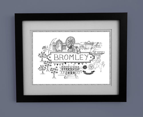 Bromley 'Illustrated Location'