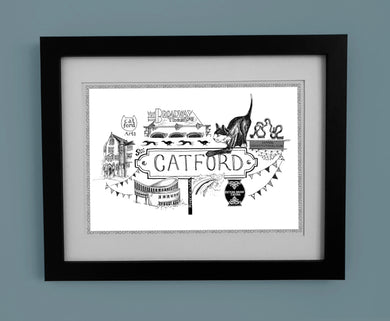 Catford 'Illustrated Location'
