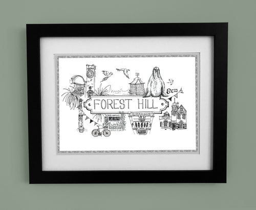 Forest Hill 'Illustrated Location'