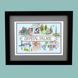 Crystal Palace Location Print