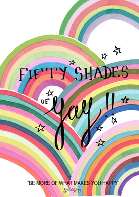 Fifty Shades of Yay!!