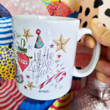Load image into Gallery viewer, Diddi & Mo 'ALL THE FESTIVE FEELS' Mug