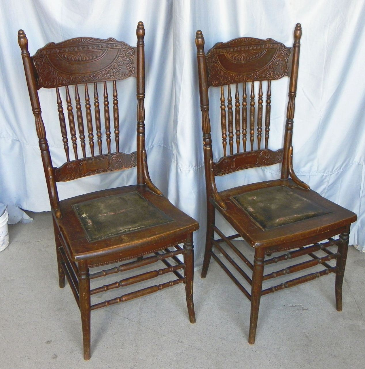 Gorgeus Pressed Back Chairs
