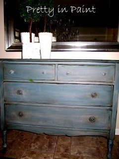 Charming Stain Over Paint