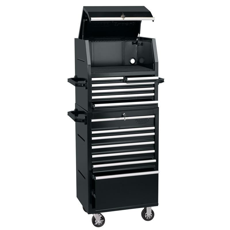 "Draper 26"" Combined Cabinet and Tool Chest (13 Drawer)"