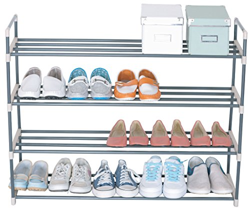 UNIWARE 19013 4-Tier Shoe Rack