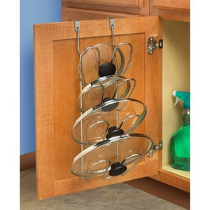 Spectrum Over Door Cabinet Lid Organizer