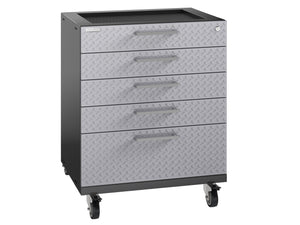 Performance Plus 2.0 Diamond Plate Silver Tool Drawer