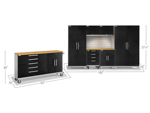 Performance 2.0 Series 8 Piece Cabinet Set