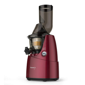 Kuvings BPA-Free Whole Slow Juicer Red B6000P with Sortbet Maker, Cleaning Tool Set, Smart Cap and Recipe Book