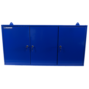Tradequip Tool Cabinet Steel Wall Mounted 1200(L) x 600(H) x 200(W) mm 1011