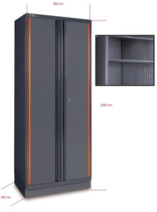 Beta Tools - RC55 A2 Sheet Metal Two-Door Tool Cabinet